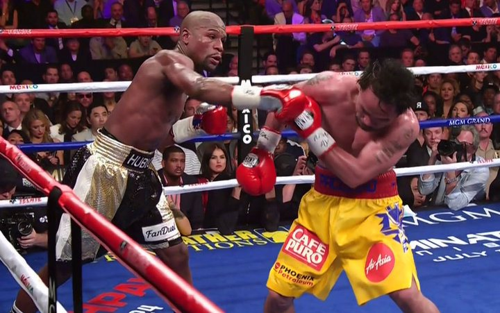 pacmay2 MECIUL SECOLULUI: Floyd Mayweather l a invins pe Manny Pacquiao!