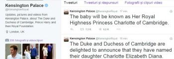 postar 350x120 Kate si William s au hotarat asupra numelui printesei lor: Charlotte Elizabeth Diana!