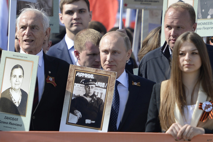 putin Vladimir Putin multumeste Occidentului pentru Victoria din 1945