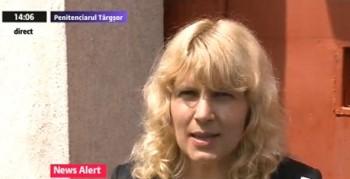 udrea 350x179 Elena Udrea, eliberata din penitenciar: Ma bucur ca ies de aici. Voi ramane in politica!