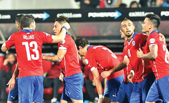 5591e9f195f9cf9545000000 Chile, calificata de arbitri in finala Copei America