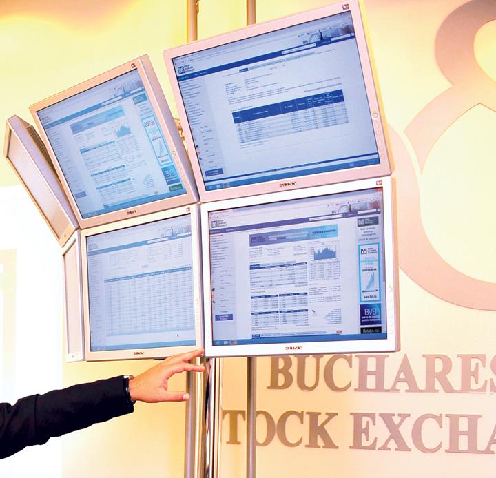 Bursa de Valori Bucuresti panou tranzactionare crop2 Bursa stagneaza, SIF Moldova si Banca Transilvania, in pierdere