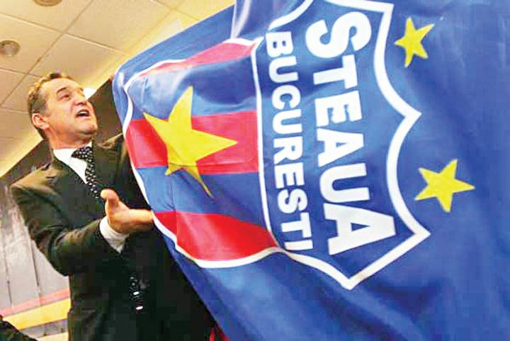 becali steag steaua emblema2 CSA interzice numele FC Steaua! UEFA a scos sigla veche de pe site!
