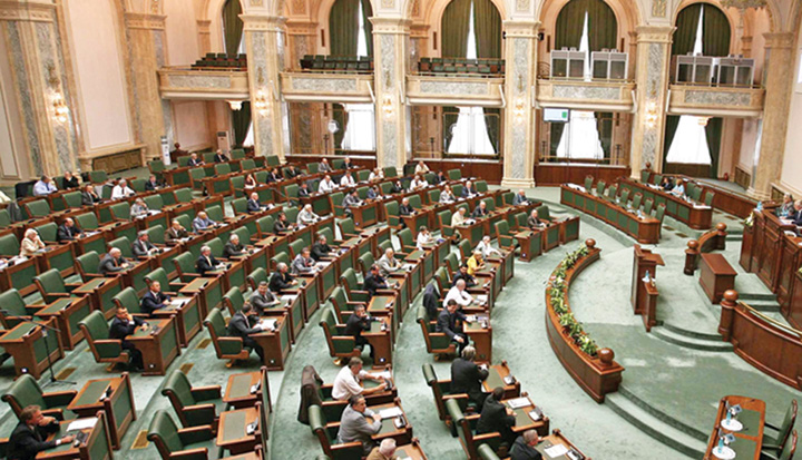 p 6 Senatul Romaniei plen Modificarile la Codul Penal, adoptate de Senat