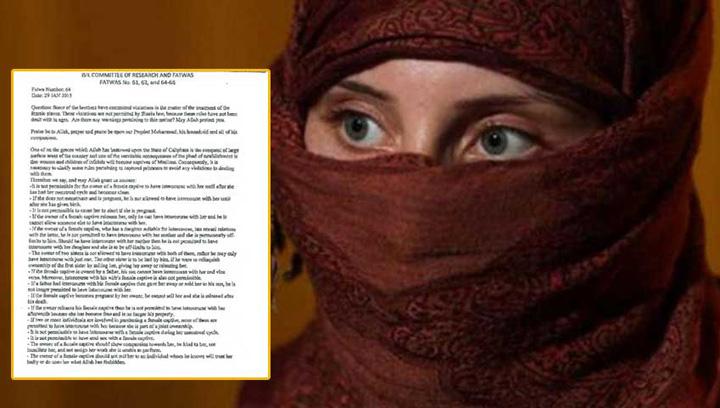 fatwa Manual de sex: cand si cum au voie militantii ISIS sa si abuzeze femeile capturate!