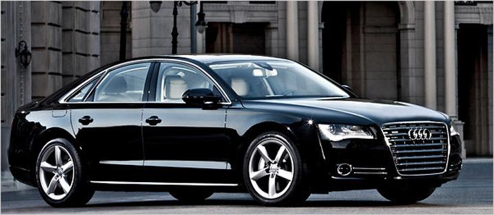 """A8 Seful """"Doi s'un sfert"""" si a tras Audi A8 din banii pentru informatori!"""
