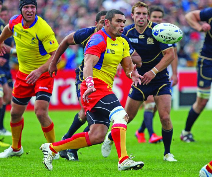 "Romania Mondialul de rugby agerpres 5584945 ""Stejarii"" au zdrobit Portugalia la ""europenele"" de rugby"