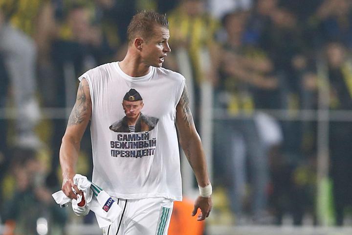 Tarasov 1 Rusii acuza UEFA dupa incidentele de la meciul Fenerbahce   Lokomotiv