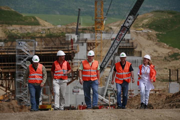 autostrada transilvaniaJPG 5 milioane euro pentru un kilometru de autostrada