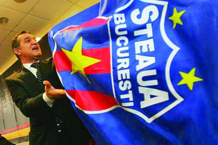 """becali steag steaua emblema2 MApN a evaluat marca """"Steaua"""" cat o insula in Seychelles"""