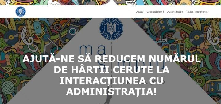 debirocratizare 720x340 Se vrea reducerea birocratiei. S a lansat platforma online a Comisiei de Taiat Hartii!
