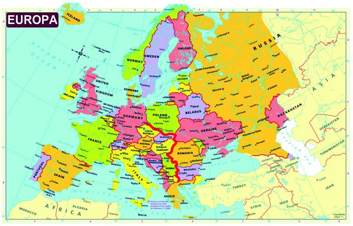 europa gard Culoarul pentru refugiati se muta in Romania!