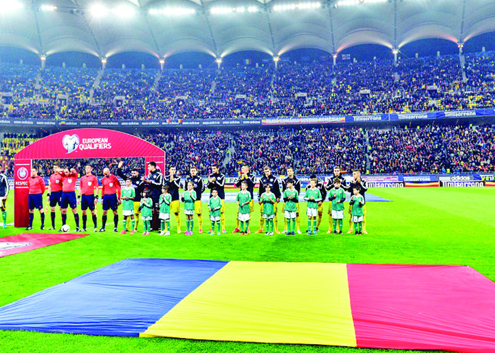 "romania steag arena nationala Iodanescu ameninta: Cu Spania, ori pe ""Arena Nationala"", ori deloc!"