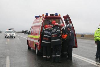 11667502 1206573752701848 8289781482247472828 n salvare accident 350x233 Accident pe DN1 A. Salvatorii au intervenit pentru descarcerarea unei persoane ranite grav