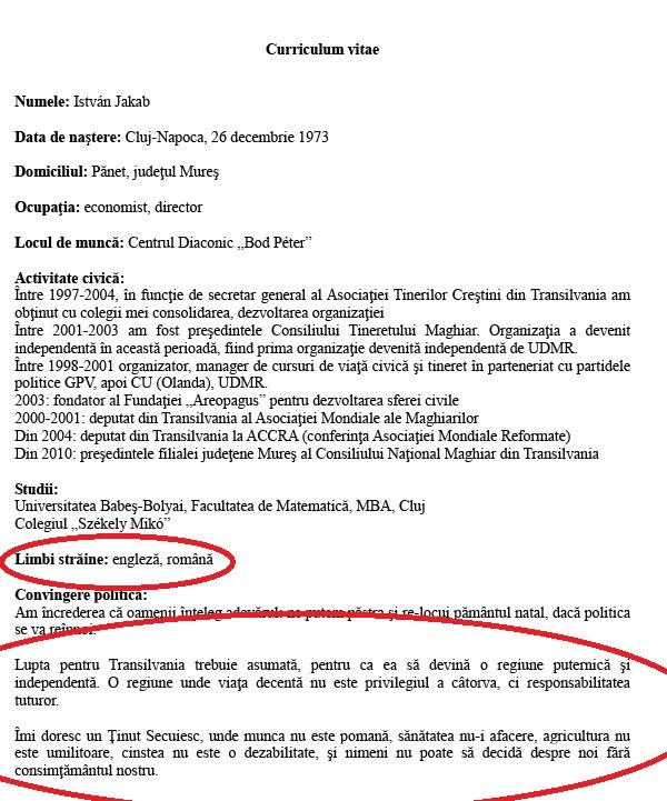 cv1 Ministrul lui Ciolos care lupta pentru independenta Transilvaniei!