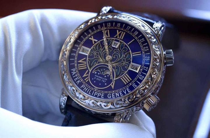 patek philippe sky moon tourbillon 6002g Exporturile de ceasuri ale ...