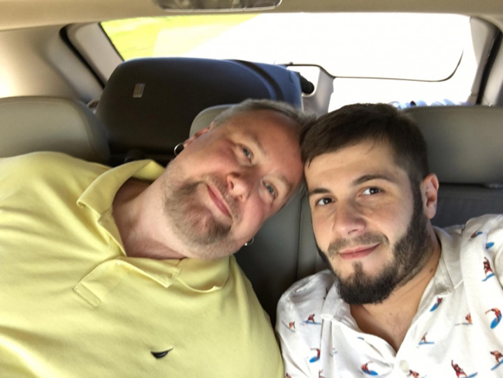 actor popo 2 Actorul Catalin Stelian s a maritat   insurat cu iubitul american