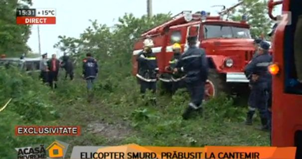 Un elicopter SMURD s-a prabusit | national ro