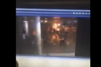expl1 350x233 Exploziile de pe aeroport, surprinse de camere (IMAGINI SOCANTE)