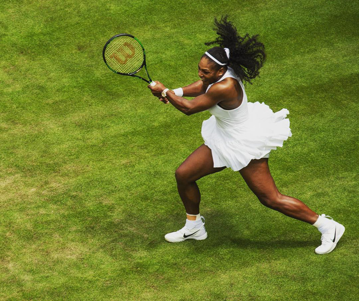 serena williams 2 Nike: Jos textila!