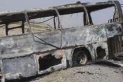 accid1 Peste 30 de morti, dupa ce un autobuz s a izbit de o cisterna
