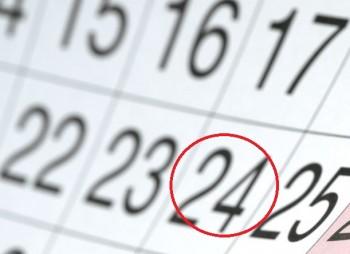 calend 350x254 24 si 31 decembrie, zile libere pentru bugetari
