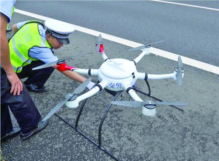 drone 5 Politia romana baga radare drone pe autostrazi!