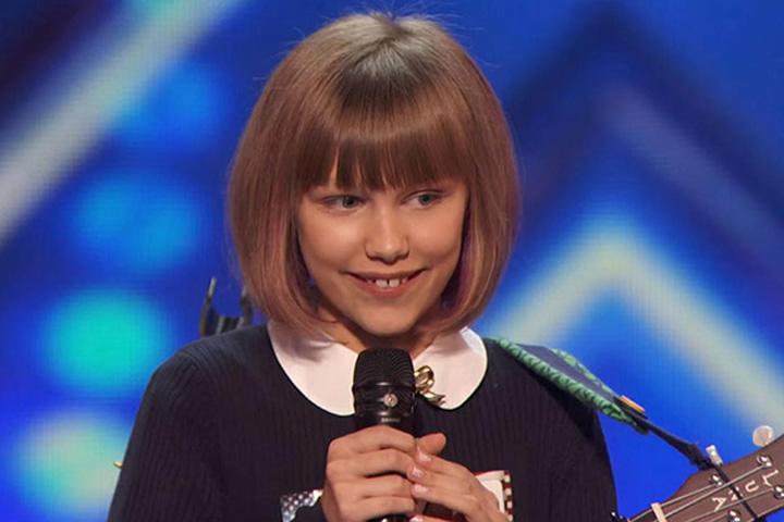 grace vanderwaal 3 ftr Americas Got Talent, castigata de o pustoaica de 12 ani