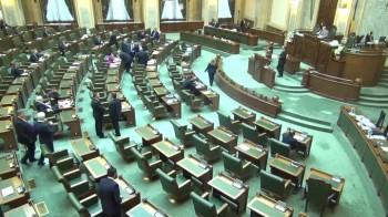 plen senat 350x196 Proiectul de modificare a legii privind CSM ul, votat in Senat pe ton de fluier