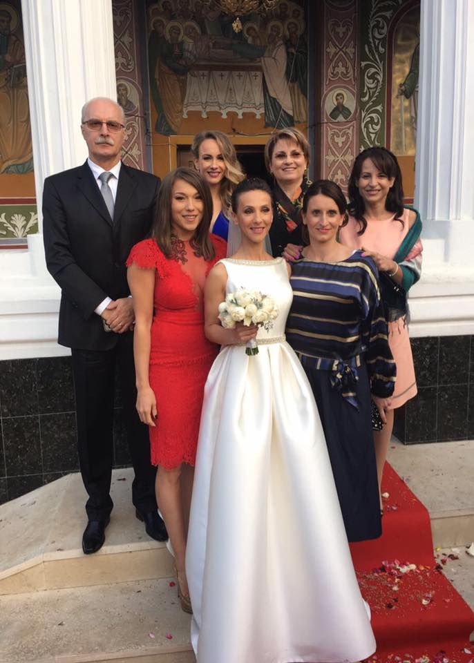 14718688 1164745033564647 8626344259411076025 n nunta S a maritat! Fosta campioana Andreea Raducan, superba in rochie de mireasa
