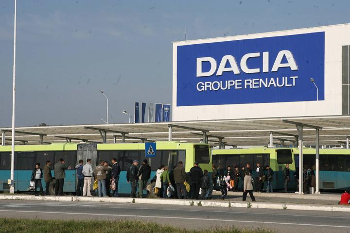 Dacia Groupe Renault Pitesti Romania 56 Romania, garajul de vechituri al Renault