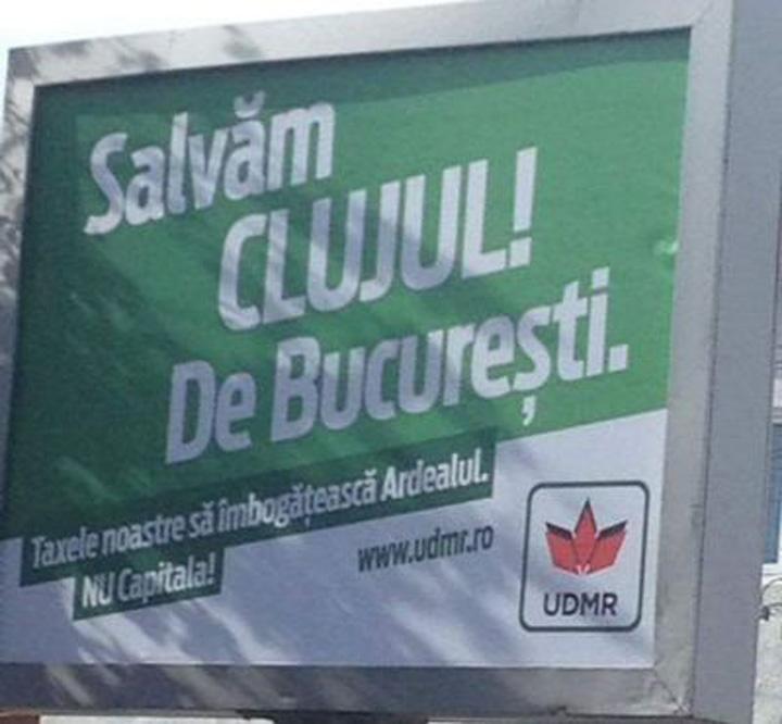 """cluj panoujpg Tupeu de UDMR: """"Salvam Clujul de Bucuresti"""""""