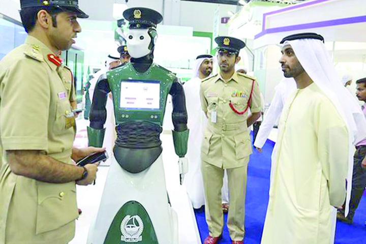 dubai 1 Primul robot politist va patrula in Dubai