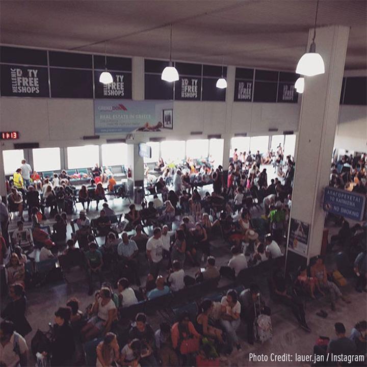 heraklion airport N avem loc nici in Top 10 cele mai proaste aeroporturi din Europa!