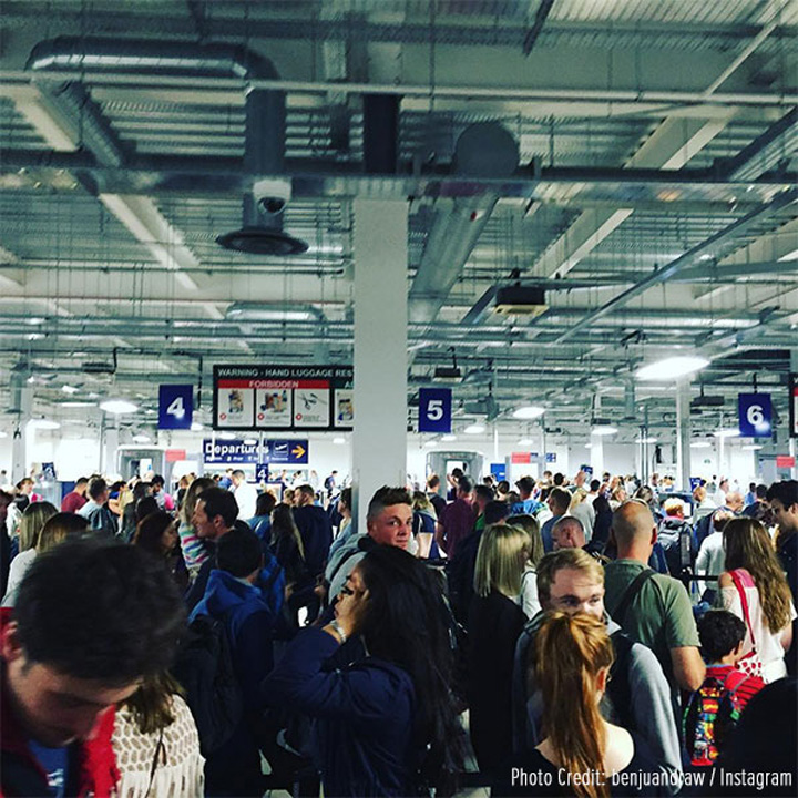 london luton airport N avem loc nici in Top 10 cele mai proaste aeroporturi din Europa!
