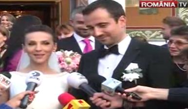 nunta S a maritat! Fosta campioana Andreea Raducan, superba in rochie de mireasa
