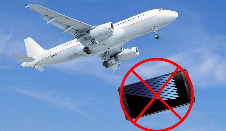 samsung galaxy note 7 interzis in avion 0 Note 7, interzis total in avioane!