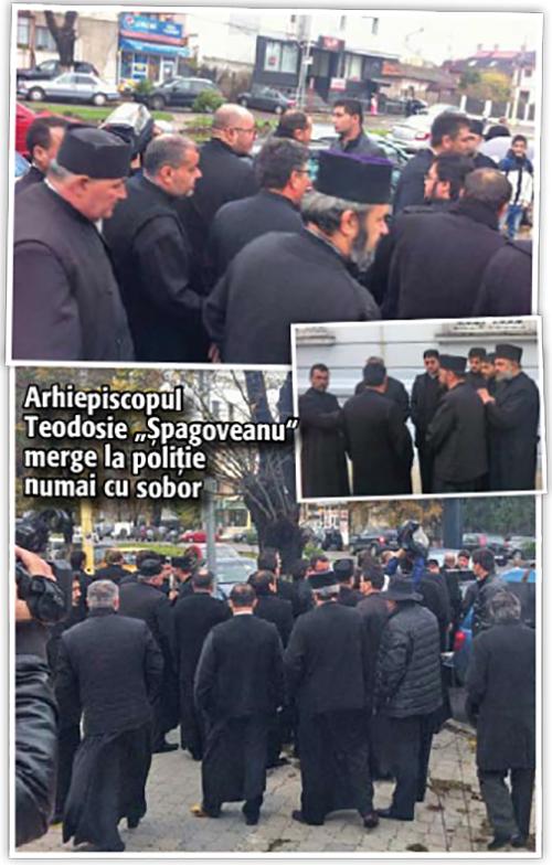 """06 ss """"Comando"""" in sutane pentru arhiepiscopul Tomisului!"""