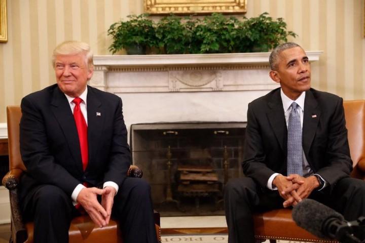 15055631 10158104776015725 7369824433746481238 n presedinti 720x480 Ce crede Trump despre protestele stradale si cum a decurs intrevederea cu Obama (VIDEO)