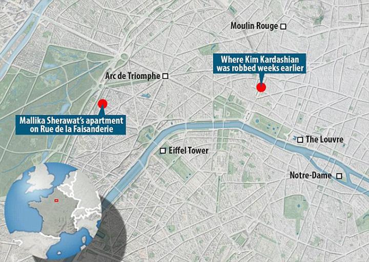 Bollywood 39 Kim Kardashian 2: gazata si batuta in mijlocul Parisului