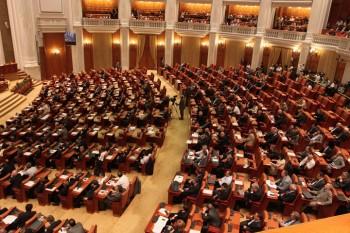Parlament plen 350x233 Legea offshore, retrimisa la Comisii