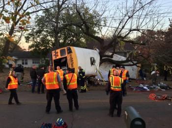 accid 350x262 Accident cumplit cu un autobuz scolar   5 copilasi au pierit (VIDEO)
