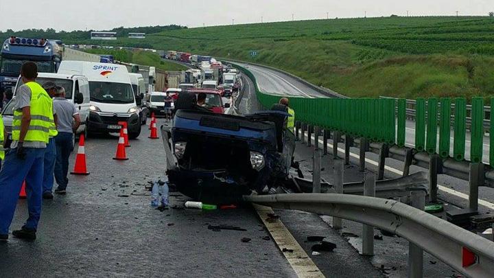 accident autostrada soarelui 1 Nesimtirea criminala a CNADNR omoara soferii pe capete