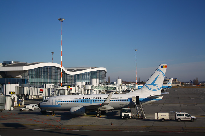 aeroport Aeroportul Henri Coanda: 4 porti noi de imbarcare