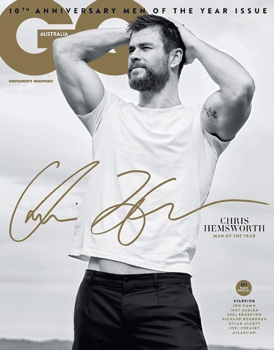 barbatul anului 1jpg Actorul Chris Hemsworth, sotul unei romance, este barbatul anului