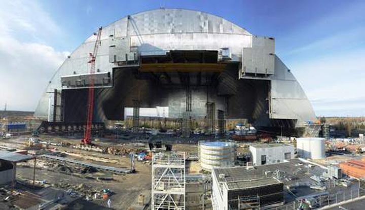 cernobil 1 Un nou cavou pentru Cernobil