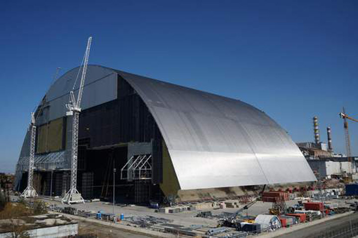 cernobil Un nou cavou pentru Cernobil