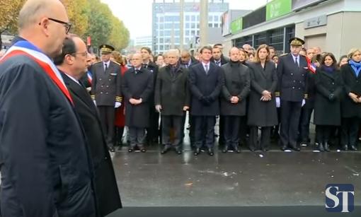 comemorare Victimele, omagiate. Un an de la atacurile de la Paris, in care au pierit si doi romani (VIDEO)