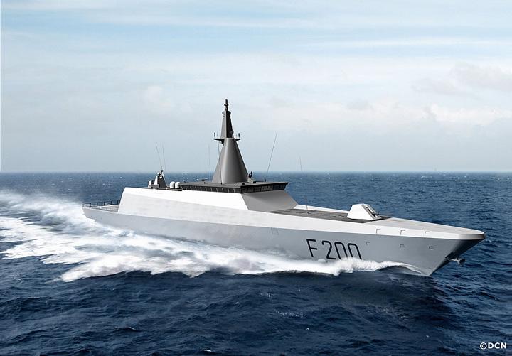 corvette gowind 200 concept1 Kim Jong un si a construit corvete invizibile