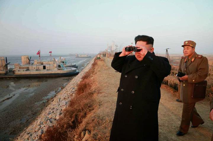 cporveta Kim Jong un 4 Kim Jong un si a construit corvete invizibile